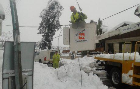 סופת השלגים 2013: חקלאים ממושבי מרום הגליל דורשים פיצוי של 9 מיליון שקל מחברת החשמל