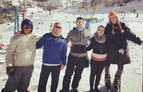 בהרי הגליל מצפים לשלג – בחרמון חוגגים עם ספינינג ואלפי מבקרים