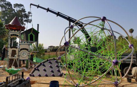 תנופת פיתוח בפארקהמעיינותוידלבניםביסודהמעלה