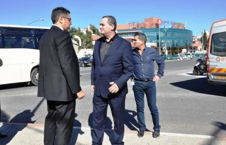 שר התחבורה אישר הסדרת צומת שערי העיר בצפת – השלב הבא- צומת ביריה
