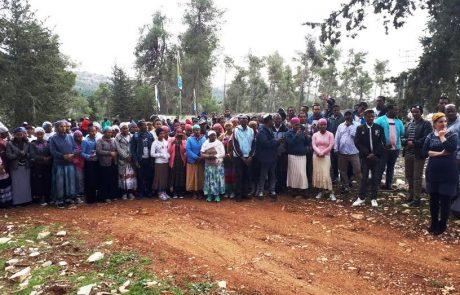 עץ ראשון בארץ הקודש: כ- 300 בני העדה האתיופית מצפת נטעו עצים ביער הבעל שם טוב