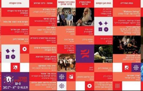היום בצפת: פתיחת אירועי פסטיבל הכליזמרים הבינלאומי – מירי מסיקה – יובל דיין – בן סנוף – חנן בר סלע – אריק שבבו