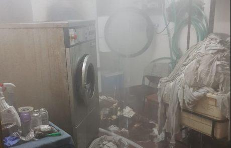 """שריפה במלון """"כנען ספא"""" בצפת – תשעה צוותי כיבוי פעלו במקום"""