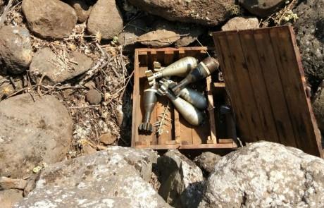 סיפתח מוצלח: ביומה הראשון של נקודת המשטרה בטובא נתפסו פגזי מרגמה