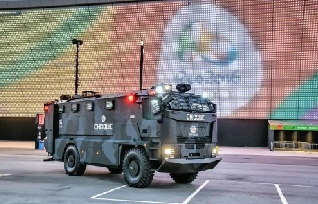 מקיבוץ סאסא לאולימפיאדה בריו – רכב ממוגן של פלסן אבטח את המשחקים