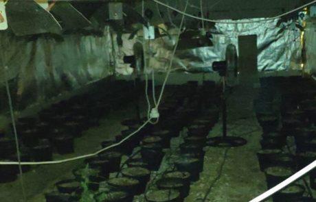 מעבדה לייצור סמים נחשפה בוילת נופש בצפת