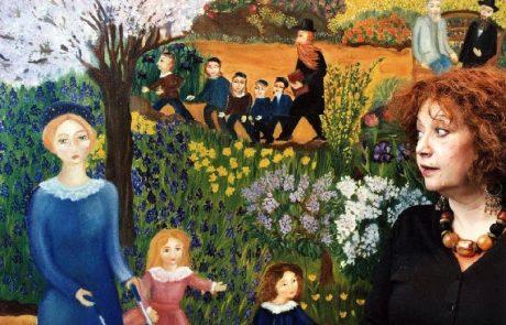האומנית הבינלאומית אסתר ציבל גדלה במשפחה מתבוללת בצרפת ומצאה את הנחלה ואת האושר בצפת