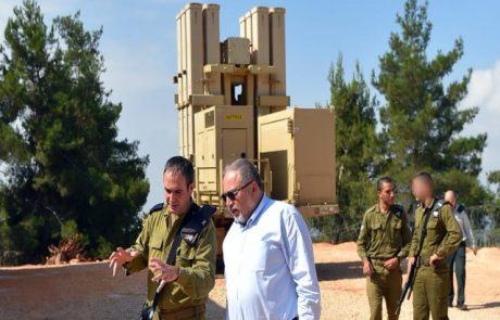שר הביטחון סייר בסוללת טילי הפטריוט בצפון