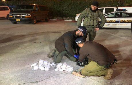 """נכשל ניסיון הברחה של 11 ק""""ג חשיש מלבנון"""