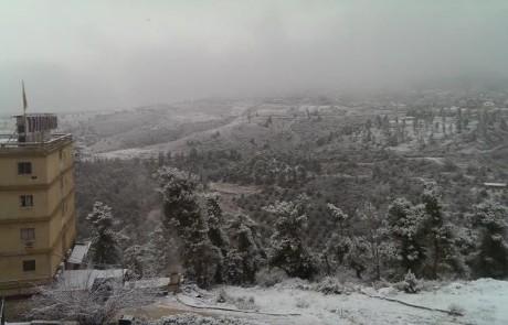 בעיריית צפת קוראים לממשלה לסייע בפיצוי כספי לנעדרים מהעבודה בגלל השלג