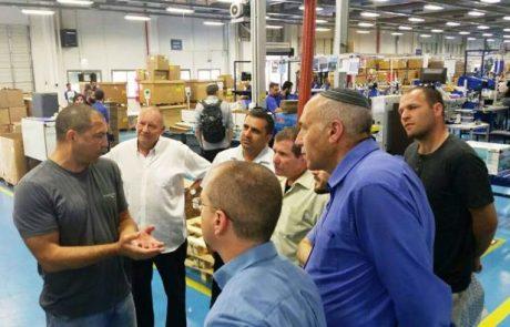 מפעל מיטרוניקס מפארק דלתון זכה באות התעשייה על מובילות חברתית סביבתית