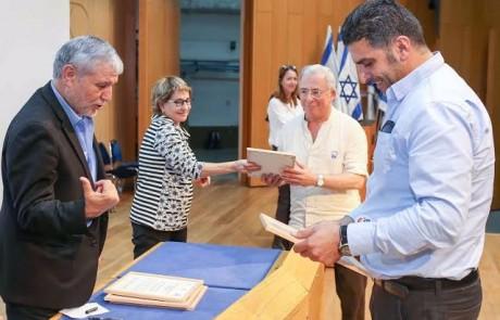 בטקס שנערך בכנסת הוענק אות הוקרה ארצי לצוות השירות לעבודה סוציאלית במרכז הרפואי זיו
