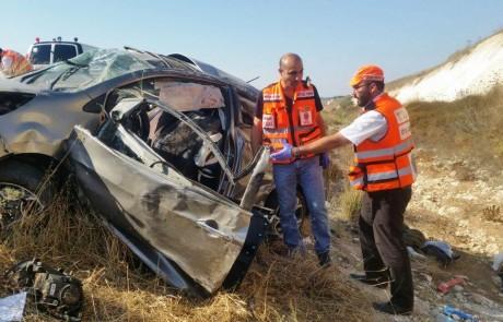הקטל בכבישים: צעיר מצפת נהרג בתאונת דרכים בכביש 6