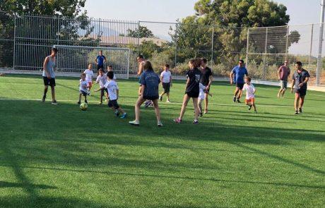 """ביסוד המעלה נחנך מגרש כדורגל לפי תקן של פיפ""""א"""