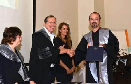 בוגרי המחזור הראשוןלתואר שניבמדעי החייםקיבלו את התואר בפקולטה לרפואה של אוניברסיטת בר-אילן בגליל