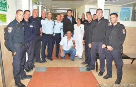הקמת יחידת השיטור העירוני בצפת הביאה לציון 87 במדד השירות המשטרתי לתושב מהגבוהים במחוז הצפוני