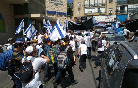 70 שנה לשחרור צפת: תלמידים משתתפים בצעדת 'השביל המחבר'