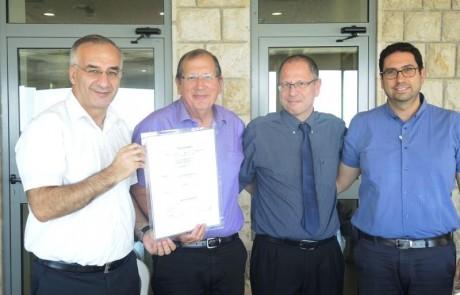 נחתם הסכם לשיתוף פעולה בתחומי ההוראה בין הפקולטה לרפואה ללאומית שירותי בריאות