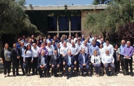 כנס אשכולות בירושלים: הנשיא ריבלין אירח ראשי מועצות מהגליל המזרחי