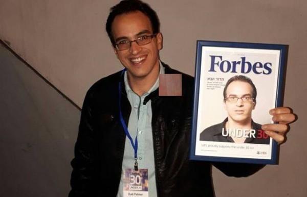 """המגזין היוקרתי """"פורבס"""" בחר בדודי פטימר כצעיר המבטיח של ישראל"""