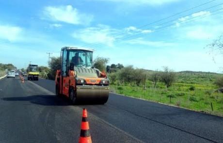 דרך חדשה:  כ- 3 מיליון שקלים מושקעים בעבודות  לשיפור כביש 8277 בין אמנון לורד הגליל