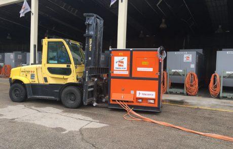 נערכים לשלג בפסגות הצפון: חברת החשמל העלתה גנרטורים וציוד כבד