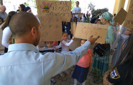 רוצים חשמל: תושבי שכונת מצפה מירון הפגינו מול עיריית צפת