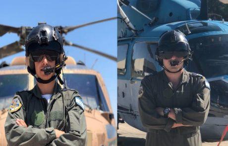 עטלף וינשוף: שני חיילים מצפת סיימו יחדיו קורס מכונאים מוטסים