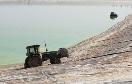 הטרקטורים שנגנבו מהחקלאים בגליל נמצאו בתחתית בריכת דגים