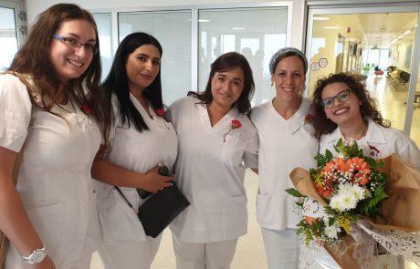 במרכז הרפואי זיו צפת נערך טקס לסיום לימודי הסיעוד – כעת הם מוכנים לדבר האמיתי
