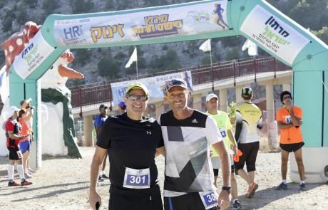החרמון נכבש: כ-200 רצים נטלו חלק במירוץ החרמון – רונן יניב מחיפה סיים ראשון
