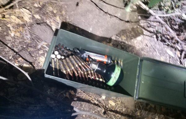 רימונים ותחמושת נתפסו בפעילות יזומה בטובא