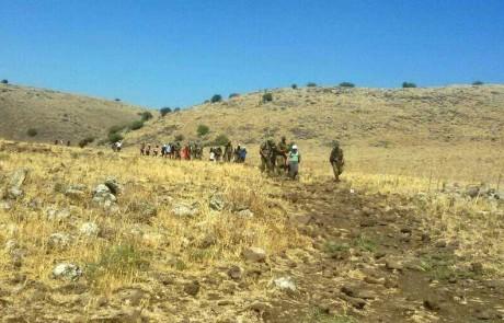 הכנה לגיוס: שיתוף פעולה בין חיילים מבסיס חוות השומר לחניכי כפר הנוער מגדים שבמגדל העמק