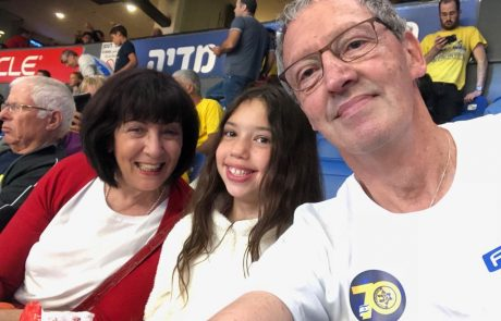 דוקטור לכדורסל: מחווה מרגשת של מכבי תל אביב לקלין שפירא לכבוד יום ההולדת ה-70 המשותף עם המדינה