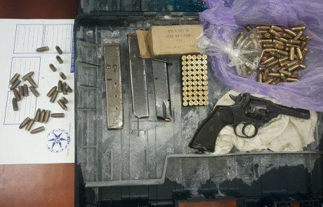 נשק לא חוקי בצפון: מתחילת השנה נעצרו 368 חשודים – נתפסו מעל 120 רובים ואקדחים