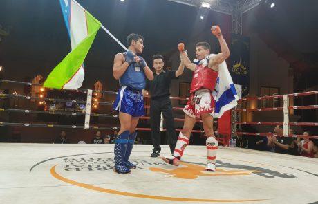 שמר על התואר: אלון סרור מצפת אלוף העולם באגרוף תאילנדי