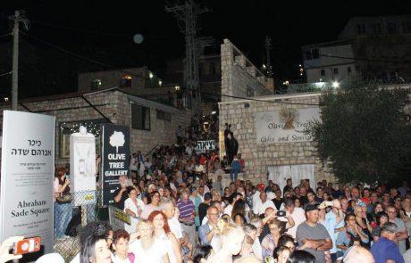 """סוחרי צפת מרוצים: """"הפסטיבל הביא לזינוק הפדיון היומי במאות אחוזים"""""""