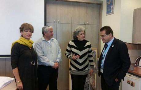 שבחים בחינוך המיוחד לשיתוף הפעולה בצפת בין העירייה למרכז הרפואי זיו