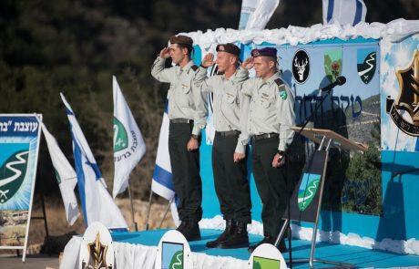 """חילופי מפקדים בעוצבת ברעם – אל""""ם רועי לוי החליף את אליעד מאור"""