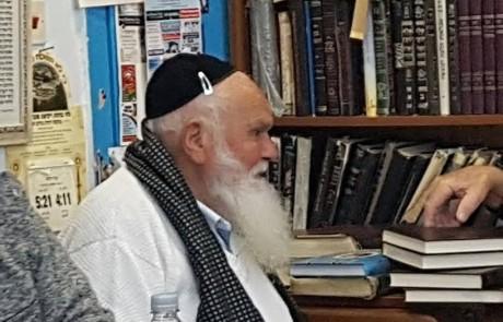 """בבית הכנסת """"אבוהב"""" בעיר העתיקה בצפת ערכו טקס הוקרה לחכם המתפללים"""