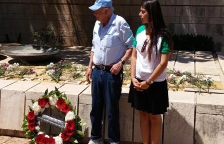 """מאות השתתפו בטקס הזיכרון ללוחמי הפלמ""""ח וגולני שנפלו על כיבוש מצודת כח"""