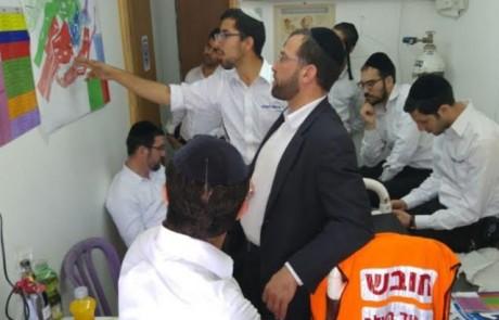 הרבנים אישרו: לראשונה יופעל בהילולה במירון לחצן מצוקה דיגטלי