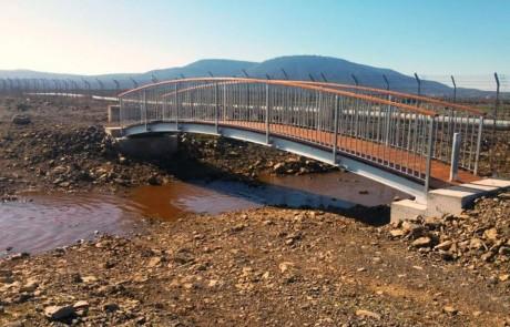 הושלם פרוייקט תיירותי ענק הכולל גשר ושבילים חדשים המחברים בין דלתון לגוש חלב