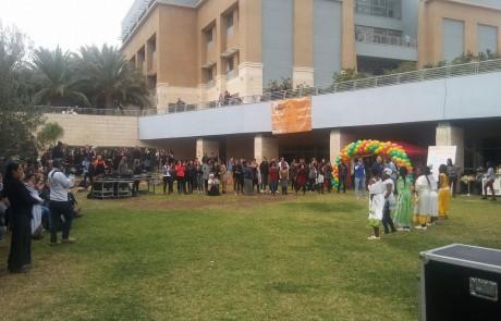 חג סיגד שמח: במכללת עמק יזרעאל חגגו הסטודנטים עם הקהילה האתיופית את החג המסורתי