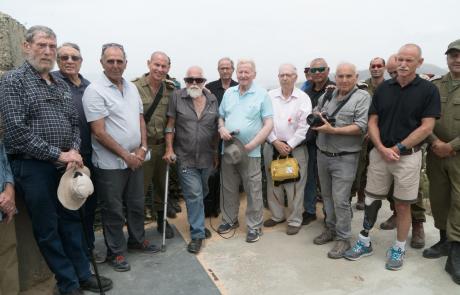 מפקדי עוצבת הגליל לדורותיהם קיימו סיור משותף לרגל ציון 40 שנים להקמת העוצבה