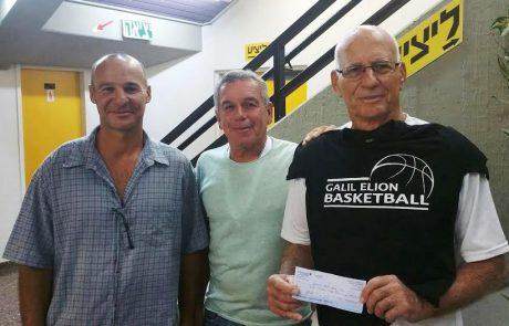 ניצחון משפחתי: אביו של המאמן רכש מנוי זהב וראה את גליל עליון מנצחת את יבנה