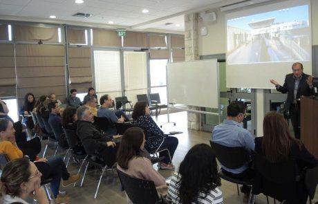 בקמפוס הפקולטה בצפת נערך יום פתוח לסטודנטים לתארים מתקדמים במחקר ביו-רפואי