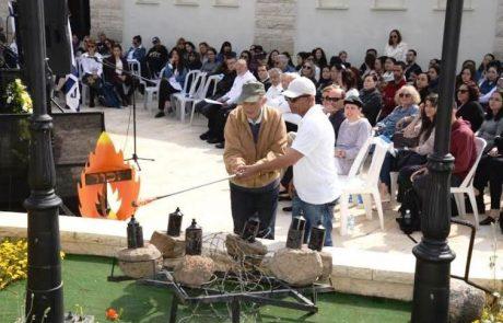 יום הזיכרון לשואה ולגבורה במכללה האקדמית צפת בסימן שואת יהודי צפון אפריקה