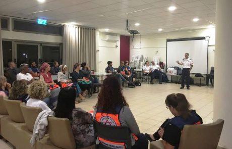 """70 מתושבי דרום רמת הגולן הוכשרו לפרויקט נאמני חיים של מד""""א"""
