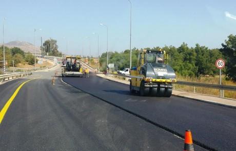 בהשקעה של כ- 1.4 מיליון שקלים הושלמו עבודות לשיפור כביש הגישה לאיילת השחר